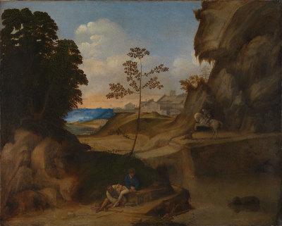Age of Giorgione at RA Il Tramonto
